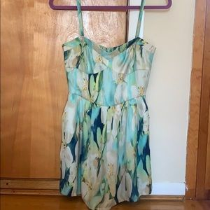 Urban Outfitters Pants - Urban Outfitters Floral Silky Romper